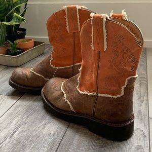 ARIAT fatbaby pull on boots